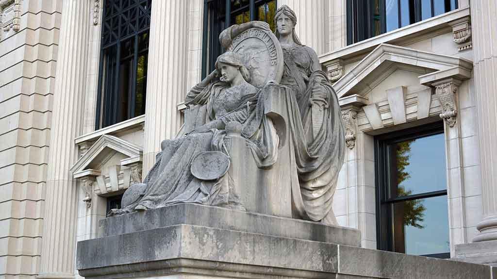Illinois Supreme Court in Springfield (Randy von Liski via Flickr)